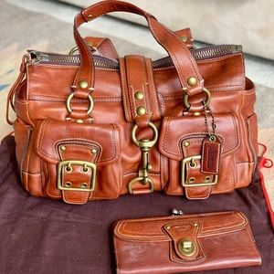 Limited Edition Coach Whisky Vachetta Leather